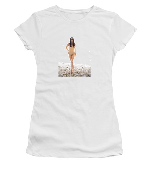 Women's T-Shirt (Junior Cut) featuring the photograph From The Beyond by Mez