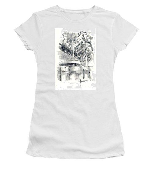 From The Breakfast Room Window Women's T-Shirt