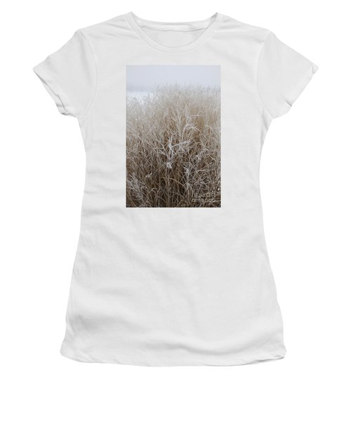 Frozen Grass Women's T-Shirt (Athletic Fit)