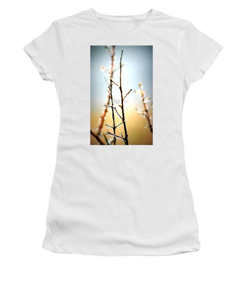 Frozen In Light Women's T-Shirt (Athletic Fit)