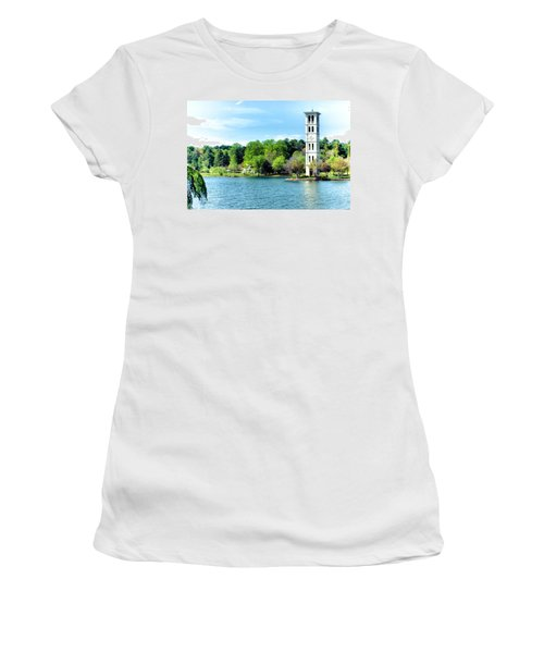 Furman Lake Women's T-Shirt (Athletic Fit)