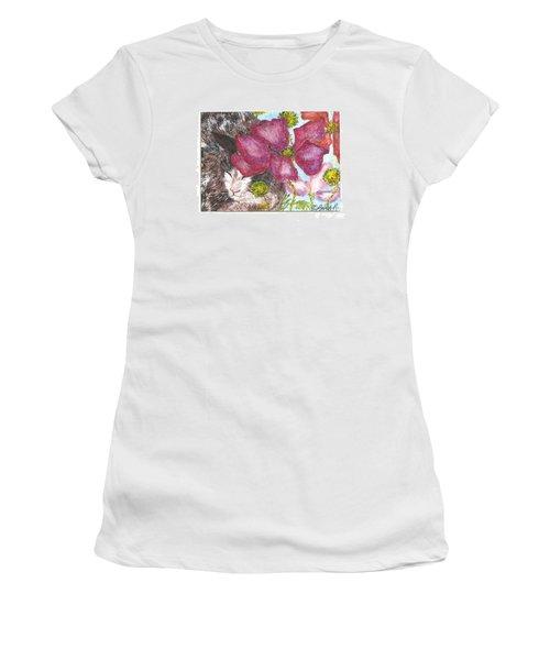 Garden Nap Women's T-Shirt (Athletic Fit)