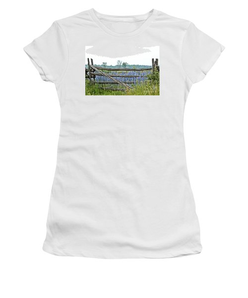 Gate To Blue Women's T-Shirt (Athletic Fit)