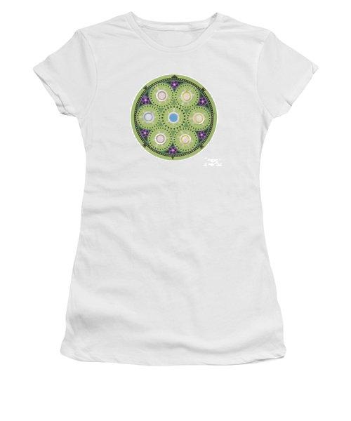Cradleboard Beadwork Women's T-Shirt