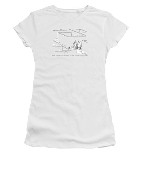Genetic Engineering Got Us Into This Mess Women's T-Shirt