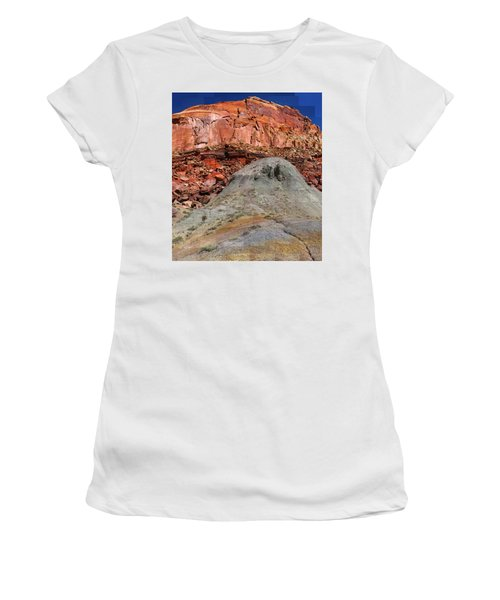 Geology Triptych - One Women's T-Shirt (Athletic Fit)