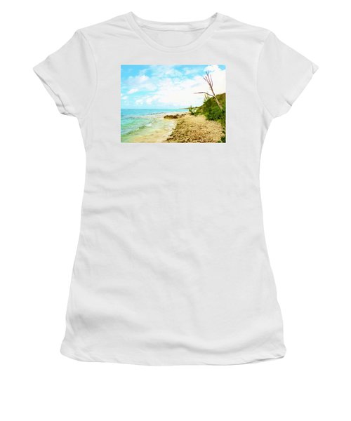 Women's T-Shirt (Junior Cut) featuring the photograph Ghost Tree by Amar Sheow