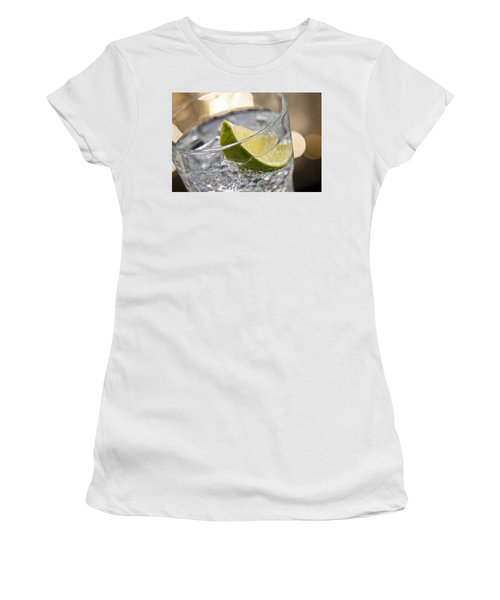 Gin Tonic Cocktail Women's T-Shirt (Athletic Fit)
