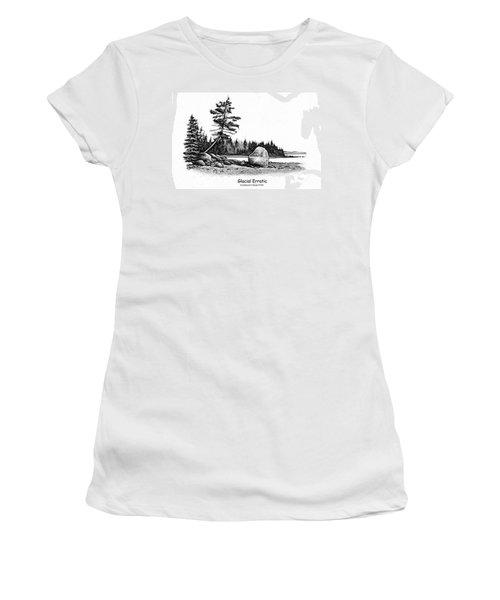 Glacial Erratic Women's T-Shirt