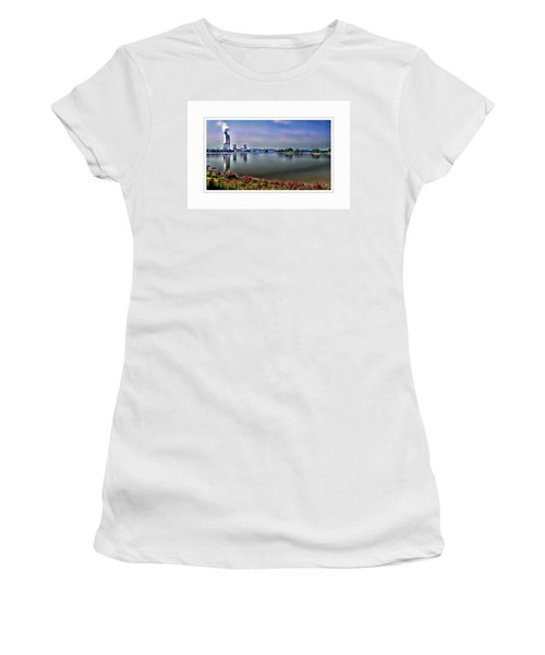 Glowing 3 Mile Island Women's T-Shirt (Athletic Fit)