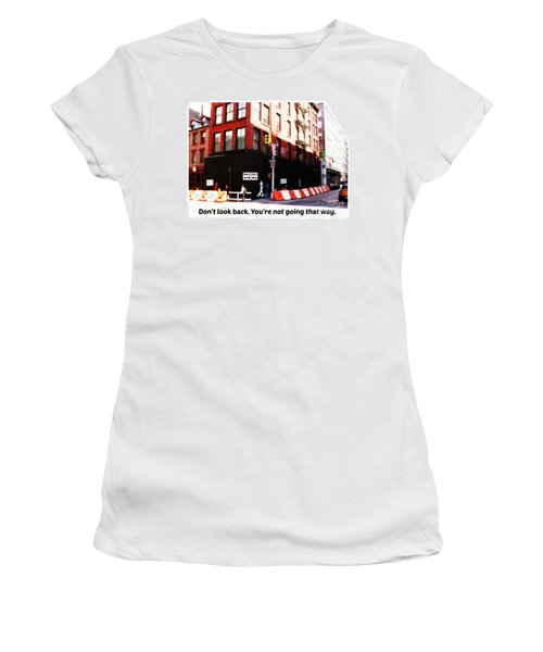 Going Forward Women's T-Shirt (Athletic Fit)