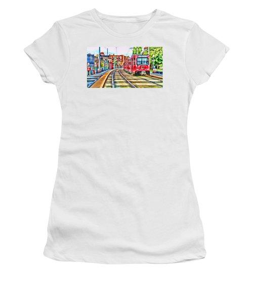 Going To Gillespie Field By Diana Sainz Women's T-Shirt
