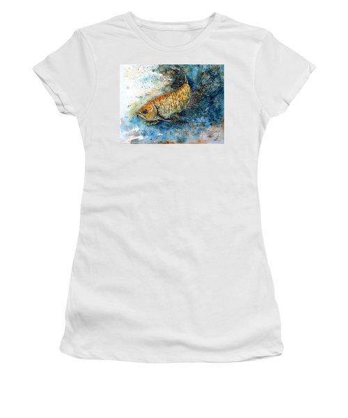 Golden Arowana Women's T-Shirt