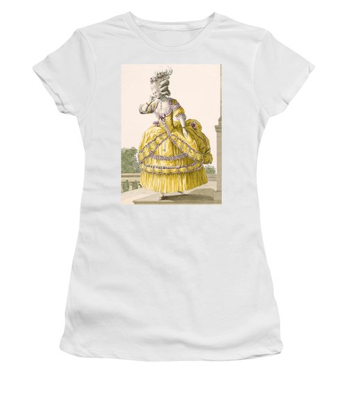 Golden Gown, Engraved By Dupin, Plate Women's T-Shirt