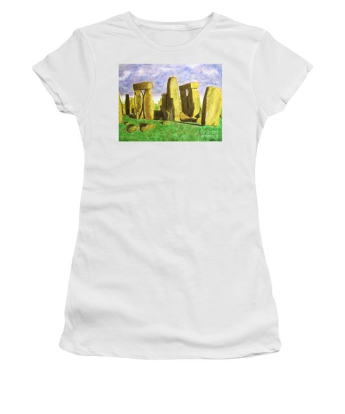 Golden Stonehenge Women's T-Shirt