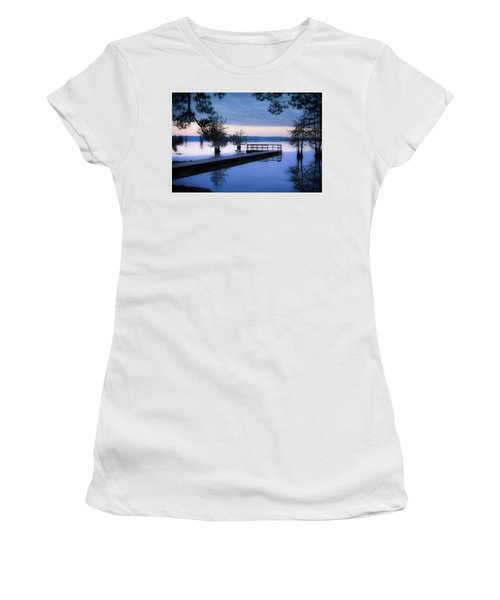 Good Morning For Fishing Women's T-Shirt (Athletic Fit)