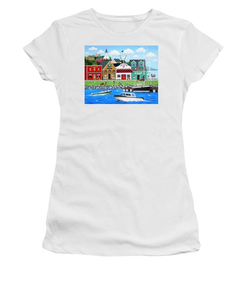 Goodies By The Sea Women's T-Shirt (Athletic Fit)