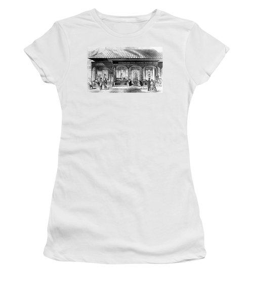 Goodyear Rubber Exhibit Women's T-Shirt (Junior Cut) by Underwood Archives
