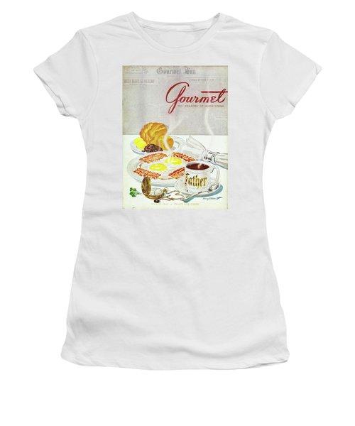 Gourmet Cover Of Breakfast Women's T-Shirt