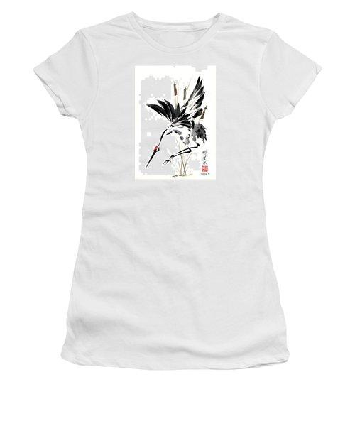 Grace Of Descent Women's T-Shirt (Junior Cut) by Bill Searle
