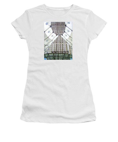 Grand Arche  Women's T-Shirt (Junior Cut) by Oleg Zavarzin