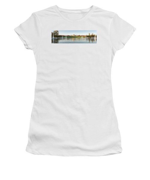 Grand Basin In Autumn Women's T-Shirt (Athletic Fit)