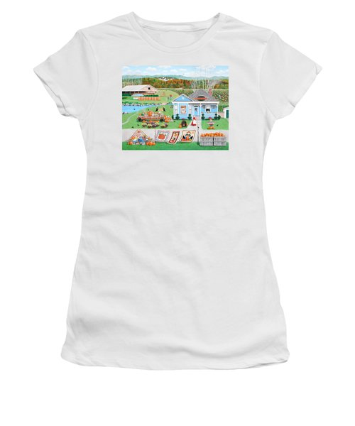 Grandma's Baked Delights Women's T-Shirt (Athletic Fit)