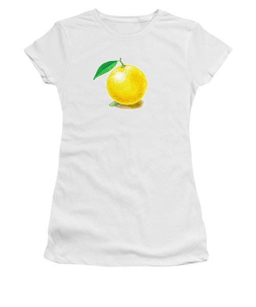 Grapefruit Women's T-Shirt (Junior Cut)