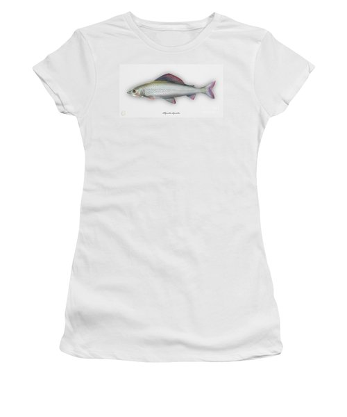 Grayling - Thymallus Thymallus - Ombre Commun - Harjus - Flyfishing - Trout Waters - Trout Creek Women's T-Shirt
