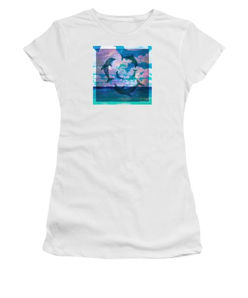 Green Dolphin Dance Women's T-Shirt
