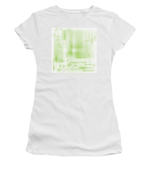 Green Ghost City Women's T-Shirt