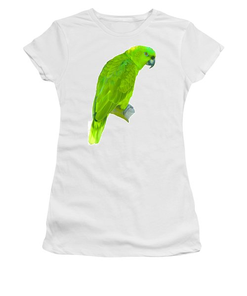 Green Parrot Women's T-Shirt