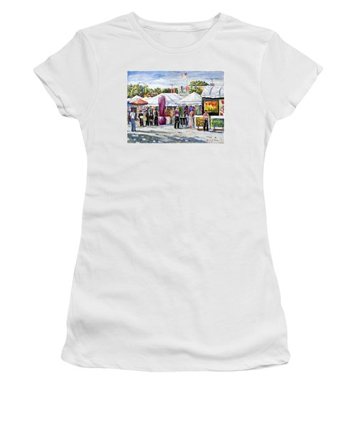 Greenwich Art Fair Women's T-Shirt (Athletic Fit)