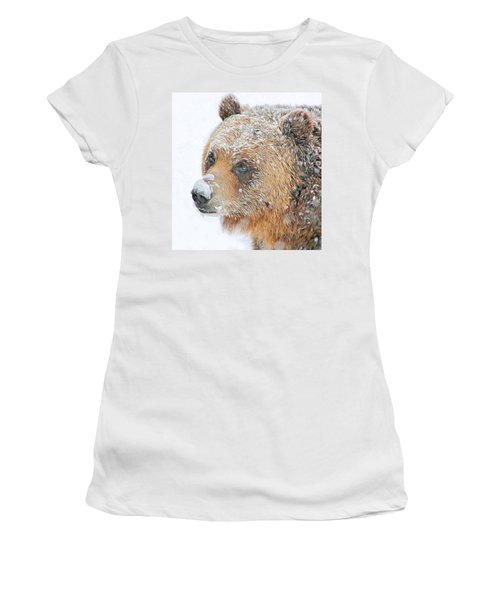 Grizzly Frost Women's T-Shirt (Athletic Fit)