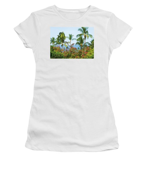 Women's T-Shirt (Athletic Fit) featuring the photograph Grow Your Own Way by Denise Bird