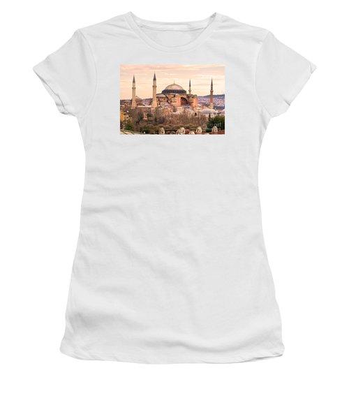Hagia Sophia Mosque - Istanbul Women's T-Shirt (Athletic Fit)