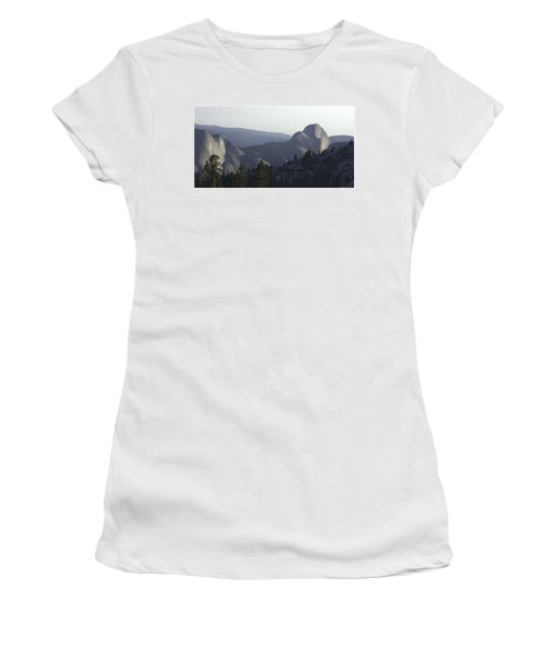 Half Dome From Olmsted Pt Women's T-Shirt