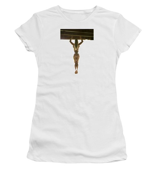 Women's T-Shirt (Junior Cut) featuring the photograph Hanging Out by Mez
