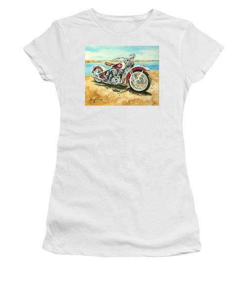 Harley Davidson 1960 Women's T-Shirt (Athletic Fit)