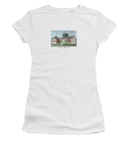 Harvard College - 1720 Women's T-Shirt (Athletic Fit)