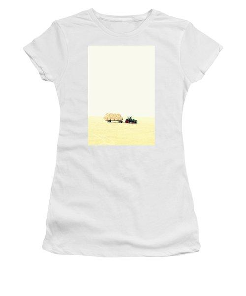 Harvest Women's T-Shirt (Junior Cut) by Chevy Fleet