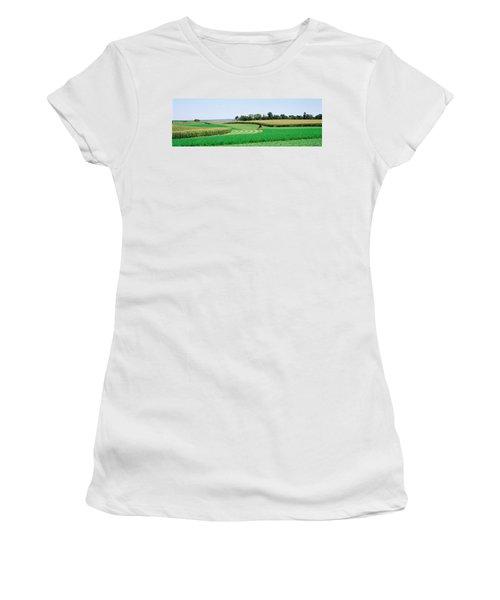 Harvesting, Farm, Frederick County Women's T-Shirt