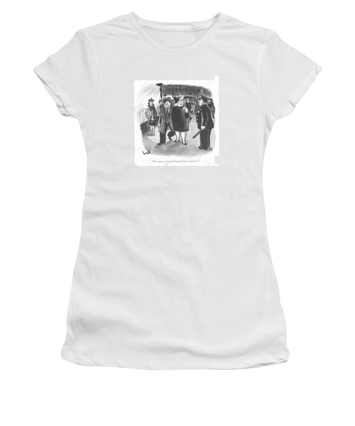 He Reports To Grand Central Palace Tomorrow Women's T-Shirt
