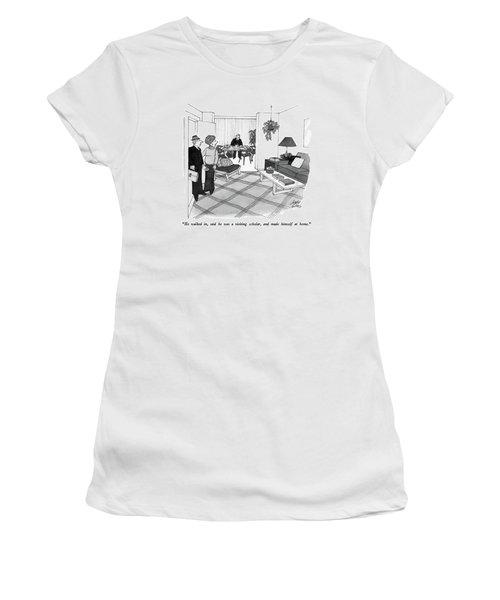 He Walked Women's T-Shirt