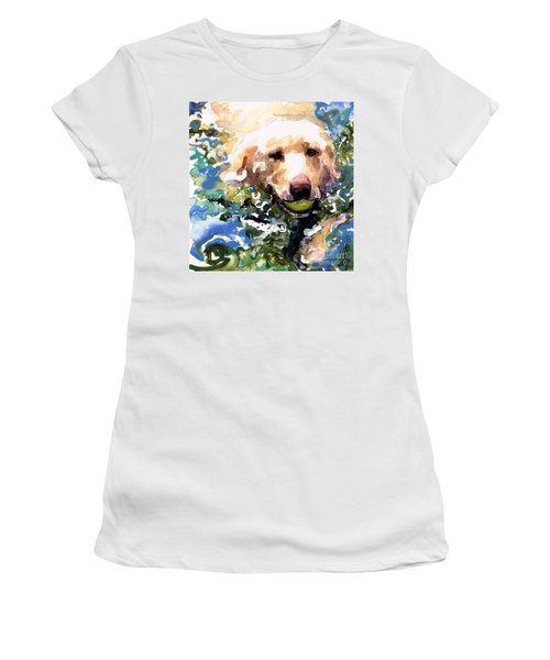 Head Above Water Women's T-Shirt (Junior Cut) by Molly Poole