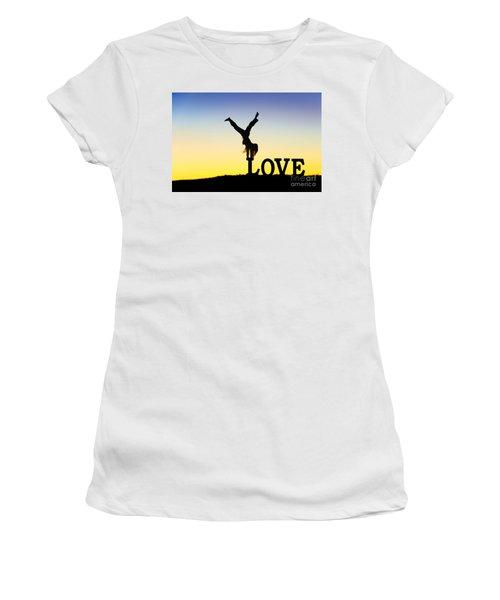 Head Over Heels In Love Women's T-Shirt