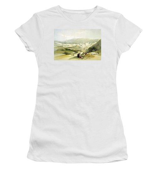 Hebron Women's T-Shirt (Athletic Fit)
