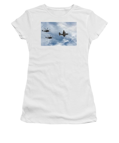 Hercules And Sea Stallions Women's T-Shirt (Athletic Fit)