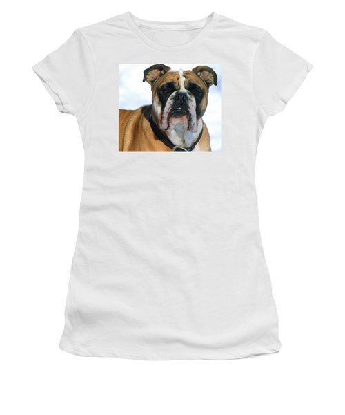 Women's T-Shirt (Junior Cut) featuring the photograph Hey Good Looking by Kay Novy