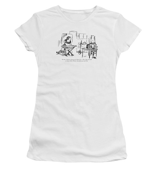 Hi There, Catherine Deneuve For Chanel No. 5 Women's T-Shirt
